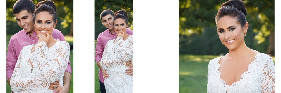 This beautiful engagement session was shot at Dover Hall in Manakin Sabot Virginia. These images are the Engagement Portrait Album that was created for the couple.