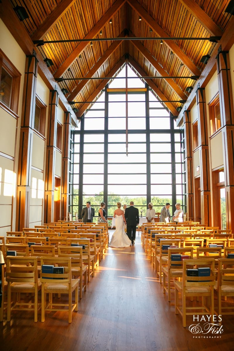 Roslyn Bishop Chapel, Richmond Wedding