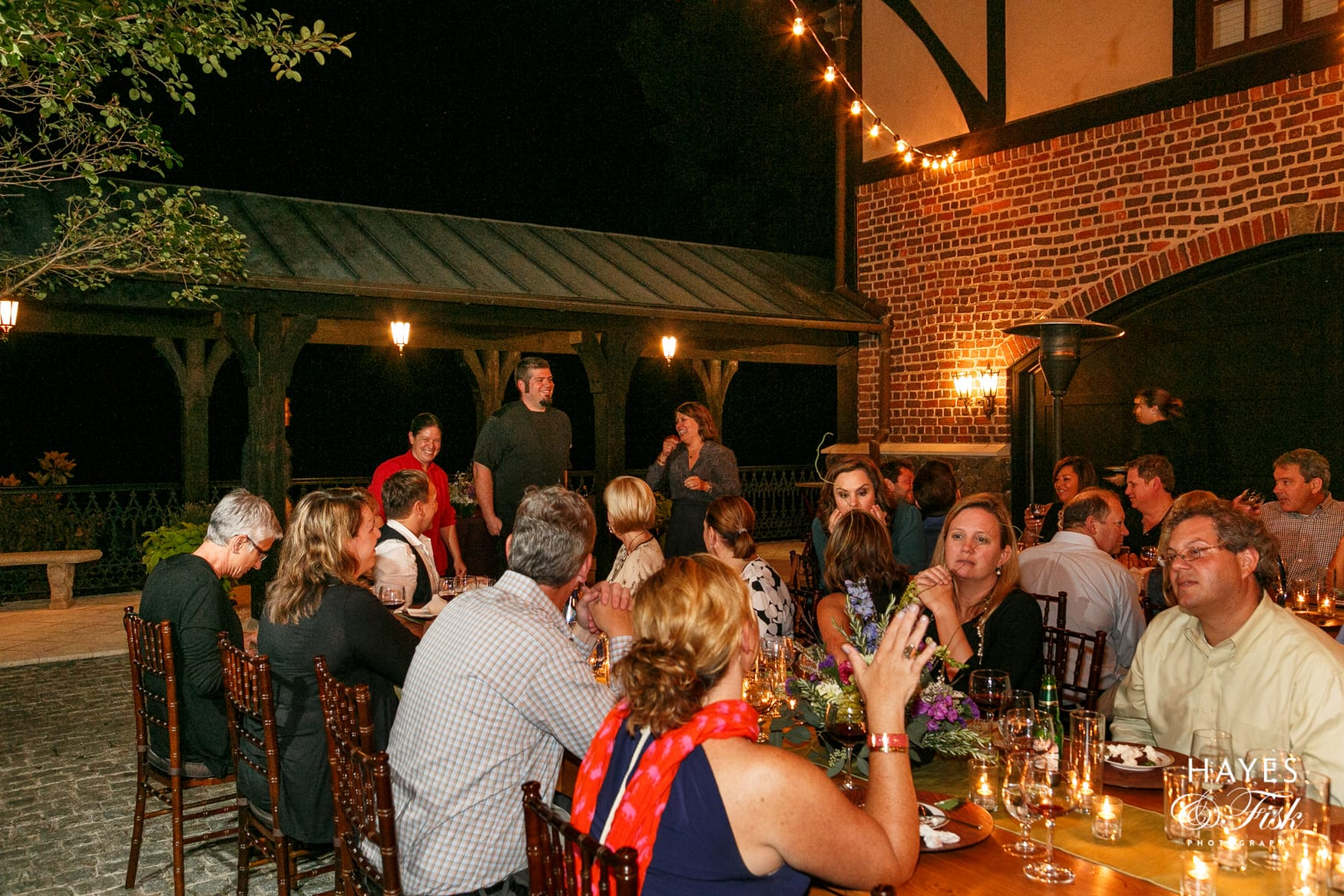 Alfresco & Wine Dinner at Dover Hall Estate