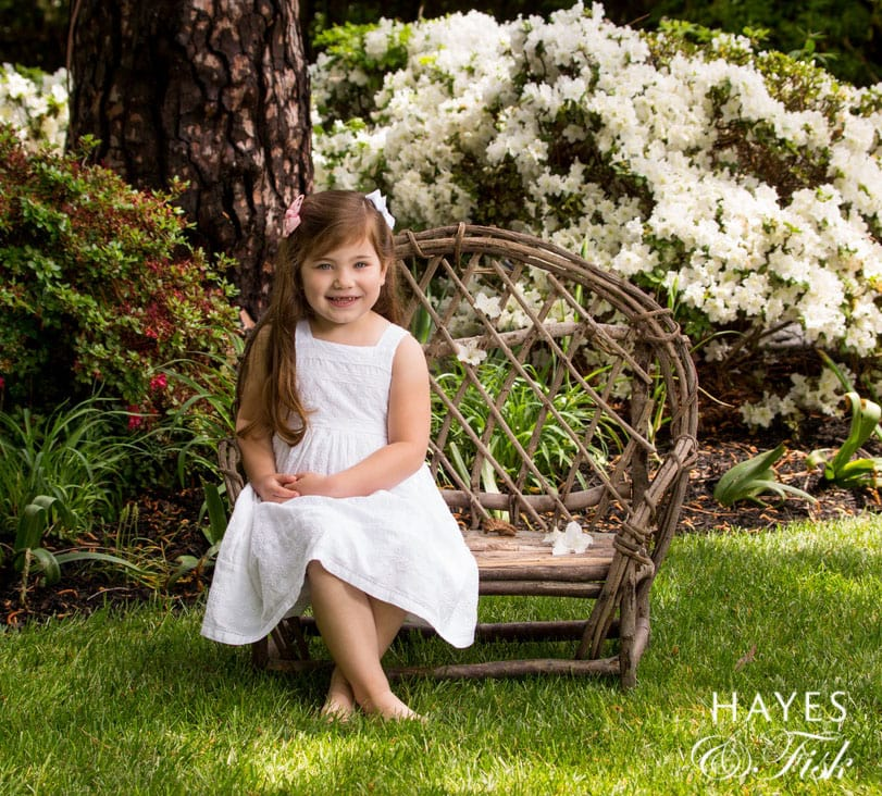 Garden Portraits, Hayes and Fisk