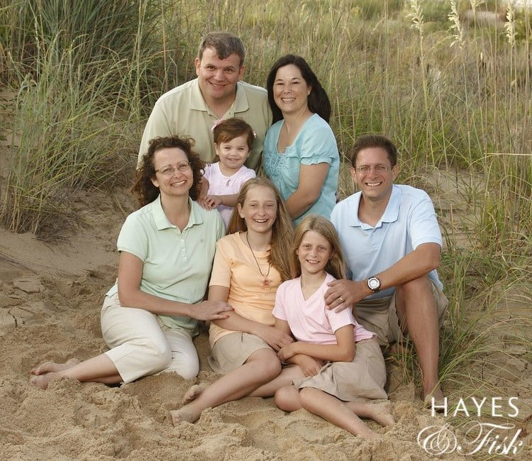 Family Portraits, Beach, Hayes & Fisk