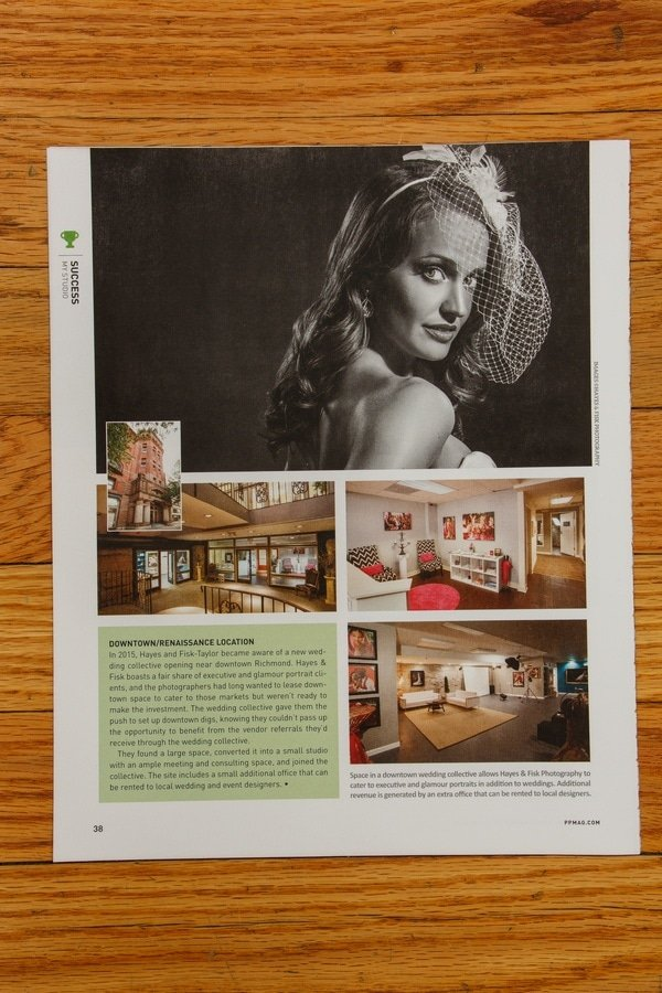 Hayes & Fisk featured in Professional Photographer