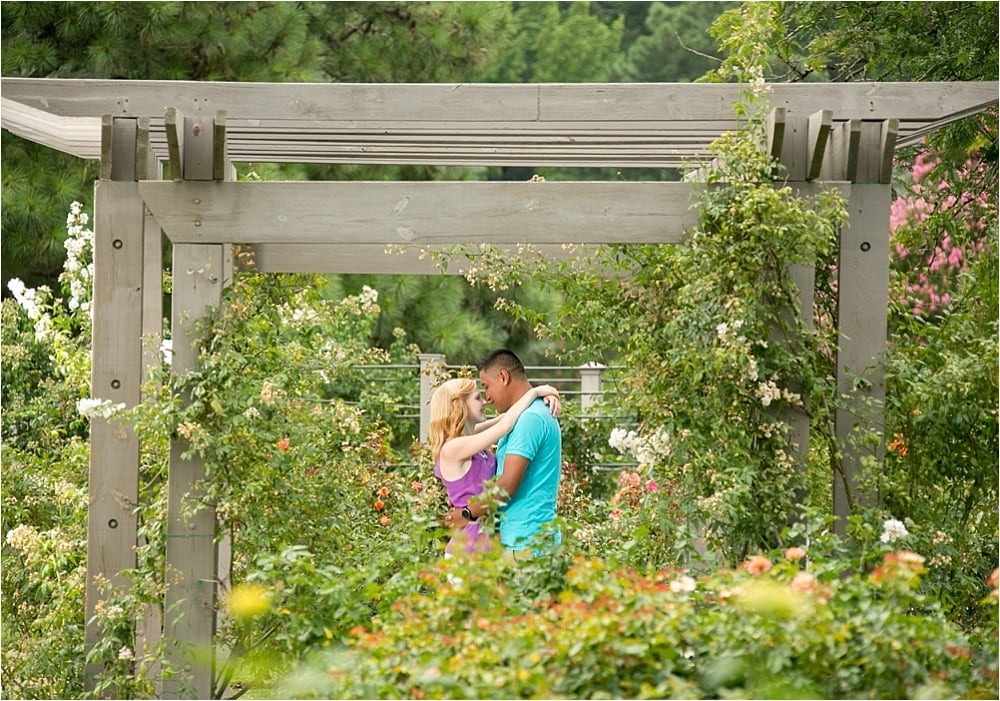 Botanical Gardens + Beach Engagement Session