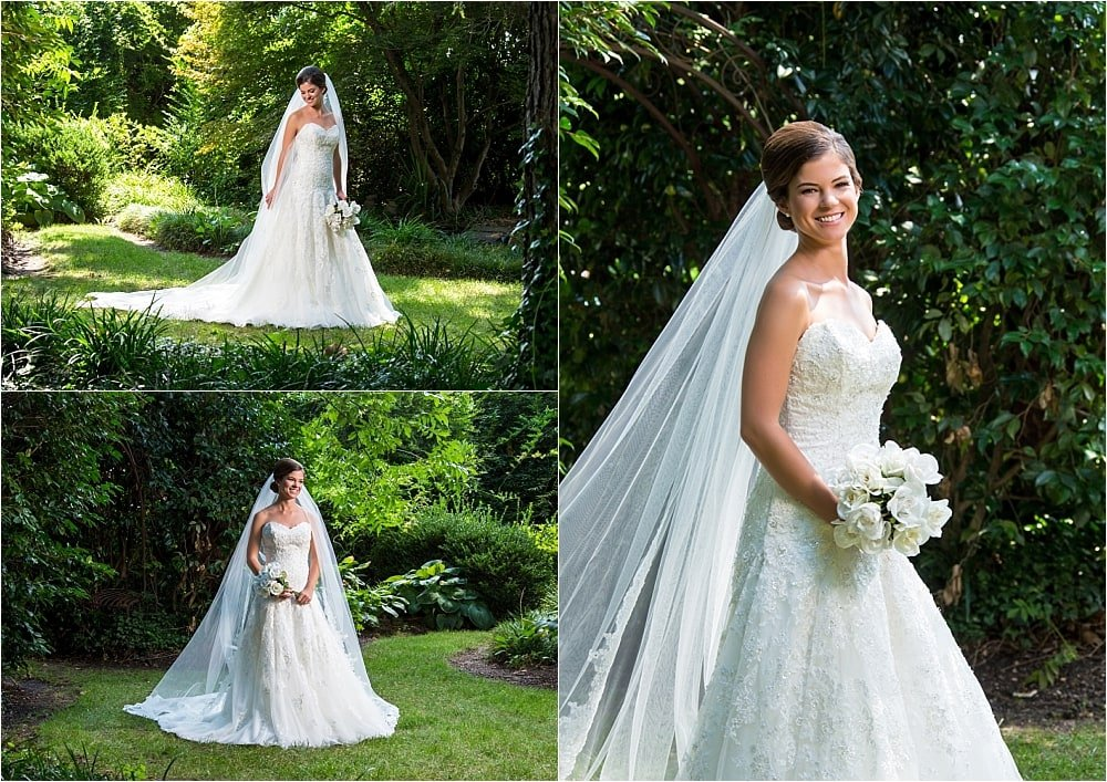 Outdoor Bridal Portrait Session