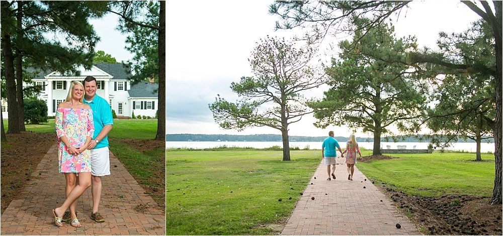 Private Estate Engagement Session Near Gwynn's Island