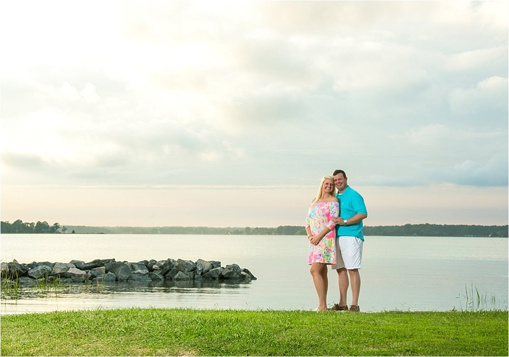 Private Estate Engagement Session Near Gywnn's Island