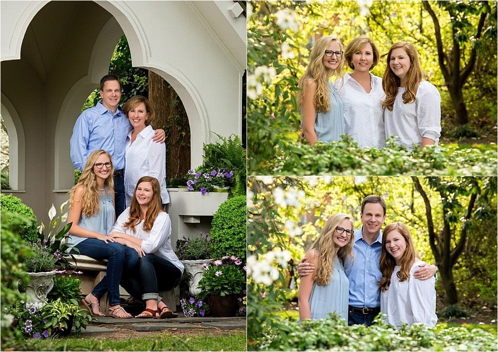 Springtime Family Portrait Session