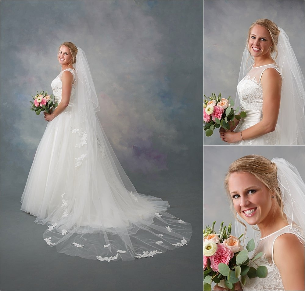 Spring Time Bridal Portrait