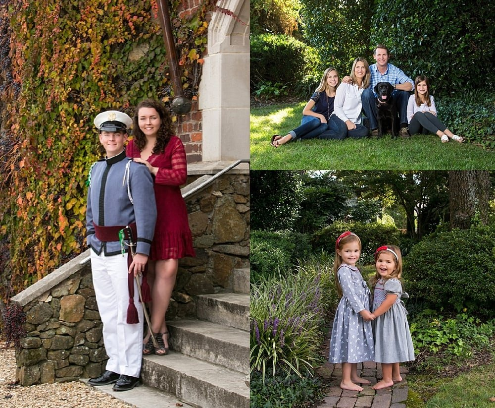 Family Fall Portrait Sessions