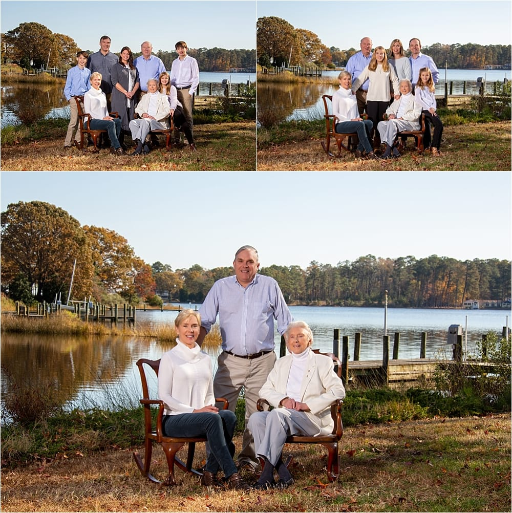 Perfect Family Riverfront Session