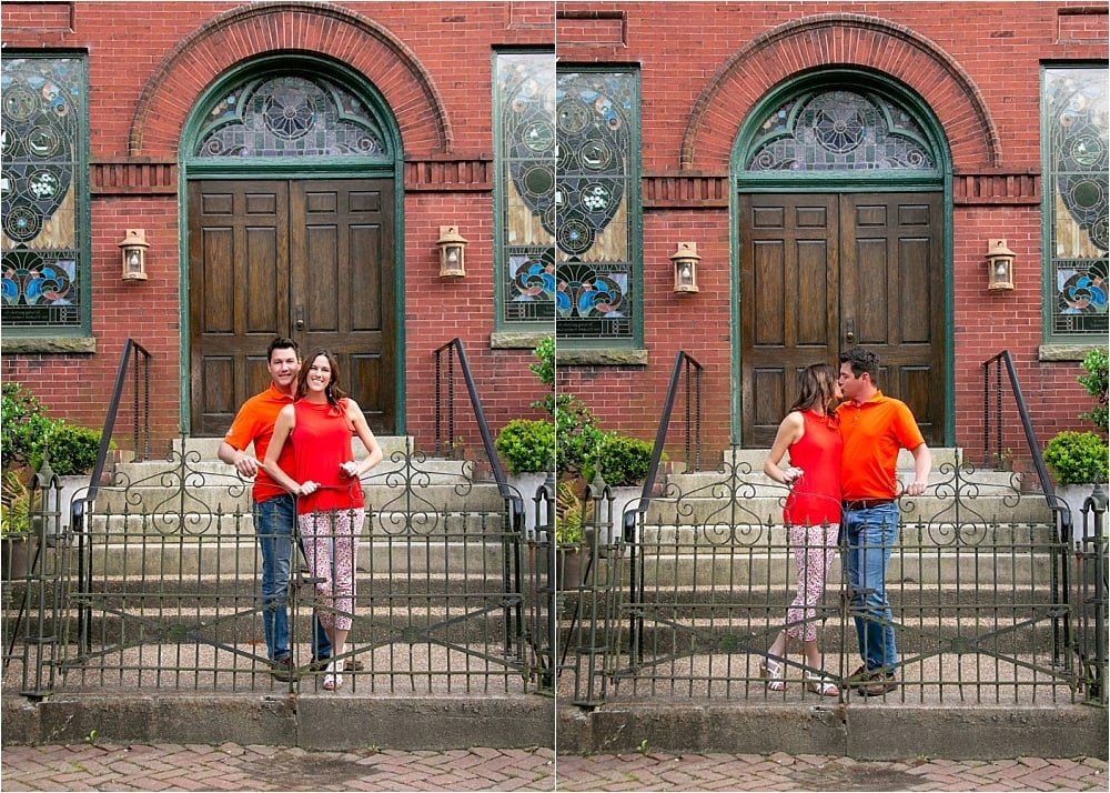 Church Hill Engagement Session
