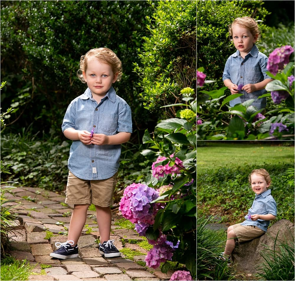 Father's Day Garden Portrait Session