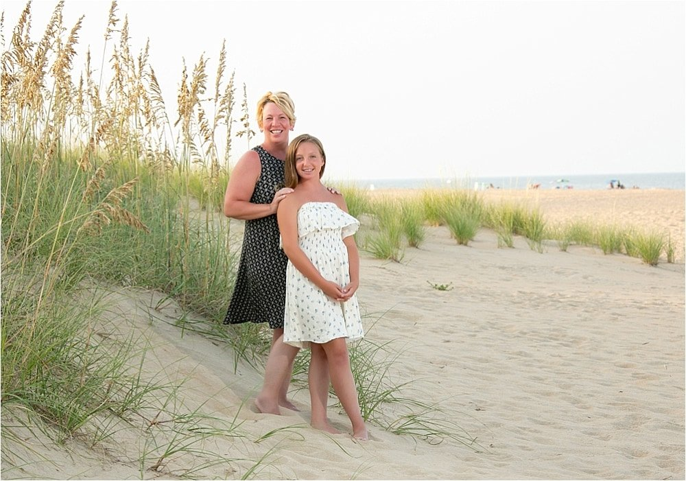 Beautiful Beach Portrait Session