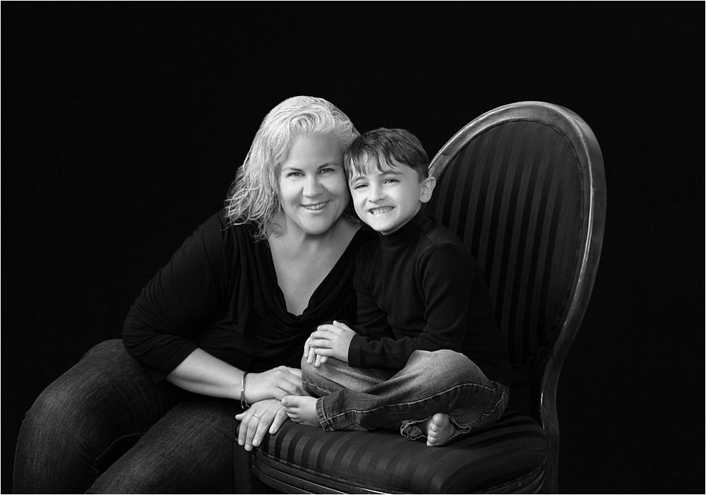 Mother-Son Portrait Session