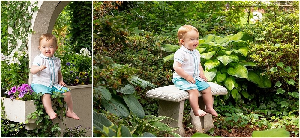 Williamson Garden Portrait Session