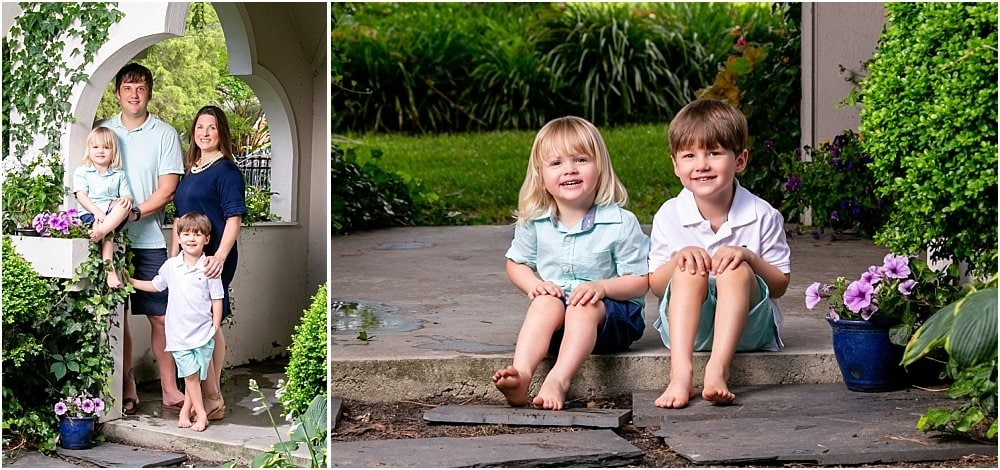 Childress Family Garden Session