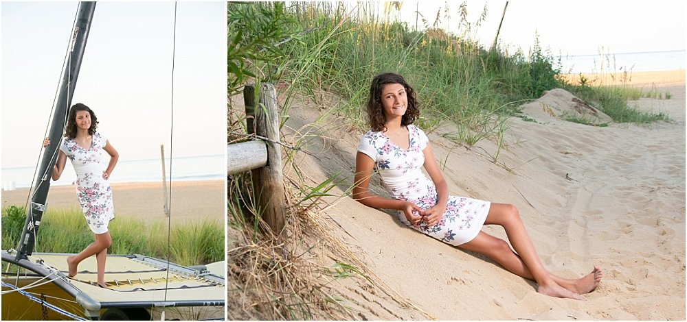 Krumbein Beach Portrait Session