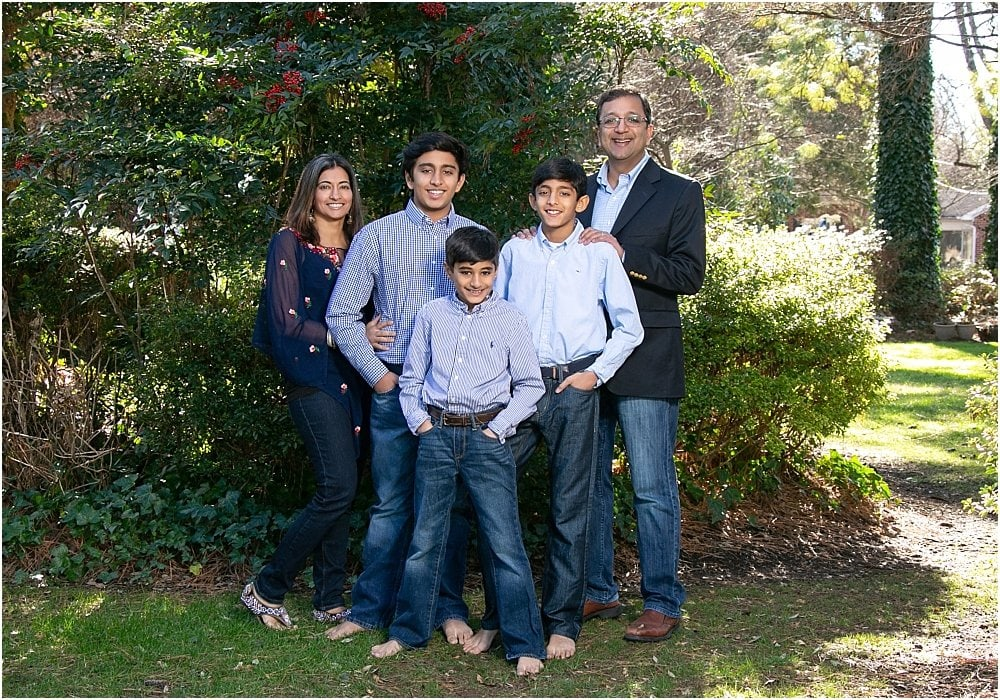 Gulati Family Traditional Portrait