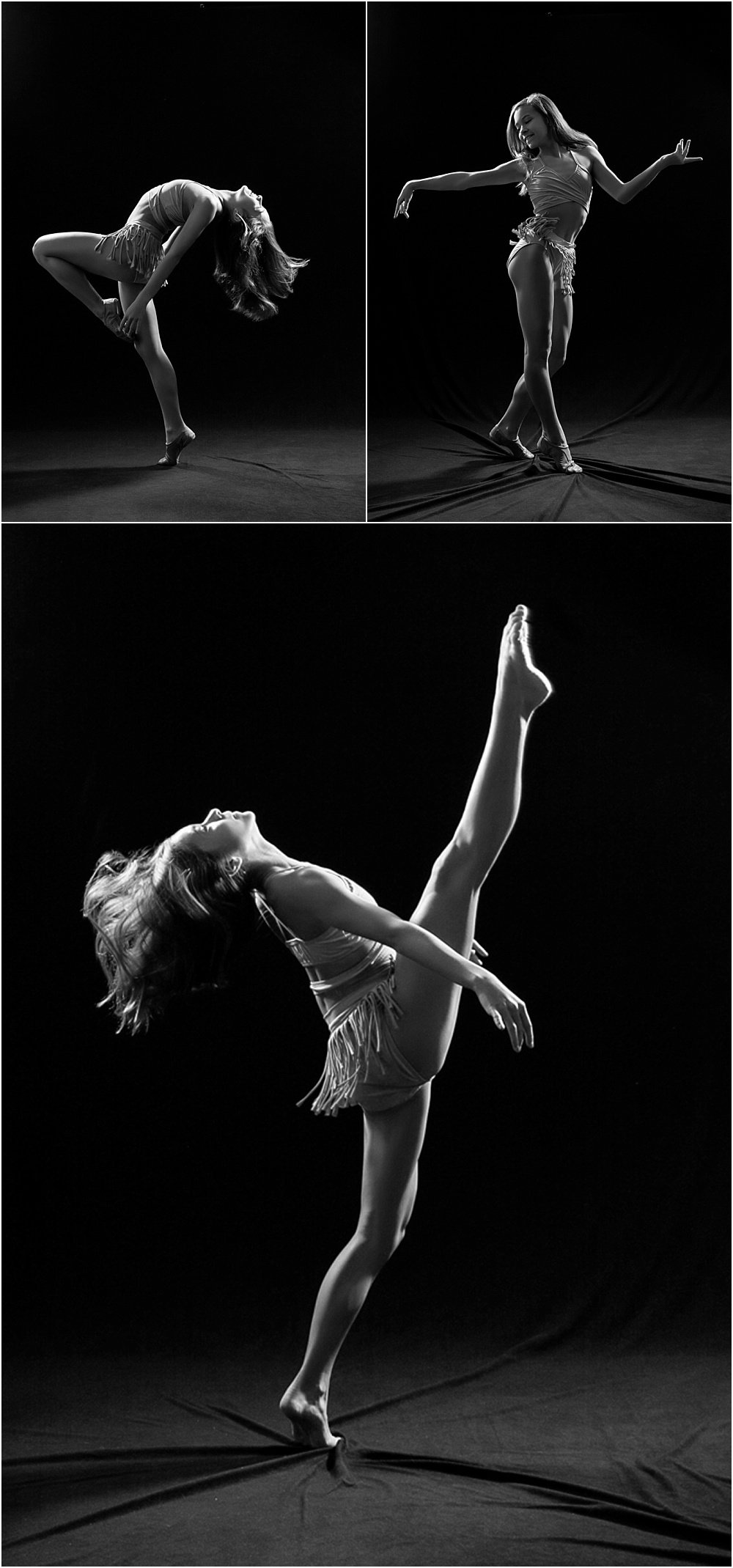 Black and White Dance Session